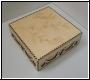 Dekorative - Holz - Box  mit Deckel und Gravur