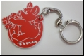 Glücksbringer Schweinchen-Hufeisen -  Schlüsselanhänger