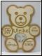 Teddy mit Babybild XL groß- Gravur-Geburtenschild