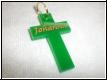 Acryl-Kreuz Anhänger Gravur
