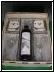 Geschenk  Silber Hochzeit - Weinpräsent mit Fotogravur - Gravur