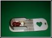 Herz Holz-Etui Box  Gravur