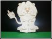 Geburtstafel Löwe mit Babybild Gravur-Geburtenschild
