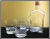 Whiskygläser und Flasche auch mit Fotogravur