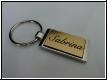 Edelstahl - Schlüsselanhänger mit Gravur