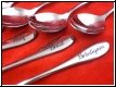 Gravur Teelöffel - Longdrinklöffel - Kuchengabeln Kundenmaterial