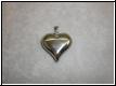 Edelstahlanhänger - Herz  mit Gravur