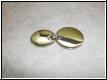 Edelstahlanhänger - 2 Scheiben mit Gravur