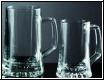 Bierglas Krug mit Henkel und Gravur- Set für Mann u.Frau