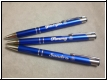 Kugelschreiber  mit Gravur-blau - Staffelpreise