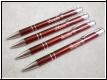 Kugelschreiber  mit Gravur - dunkelrot -Staffelpreise