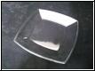 Glas Schale eckig mit Gravur - auch mit Fotogravur