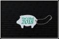 Glücks Schwein 2018 mit Gravur - Staffelpreise