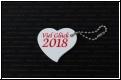 Glückbringer Herz 2019 mit Gravur - Staffelpreise