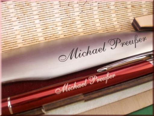 kugelschreiber set mit gravur