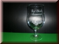 Biertulpe - Pilsglas 0,4l mit Gravur