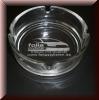 Glas Aschenbecher mit Gravur