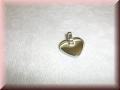Edelstahlanhänger - Herz klein mit Gravur