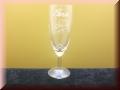 Sektglas/kelch klein graviert