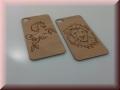 iPhone S4 Backcover zum Aufkleben mit Gravur