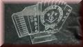 Pokal Akkordeon Gravur - Musikpokal