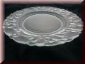 Glas Teller rund 32cm mit Gravur-Fotogravur möglich